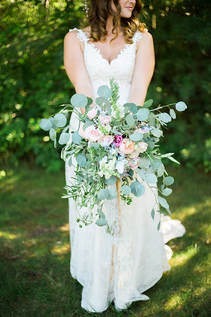 romantic pink bouquet | Julie K. Gray Photography | Glamour & Grace