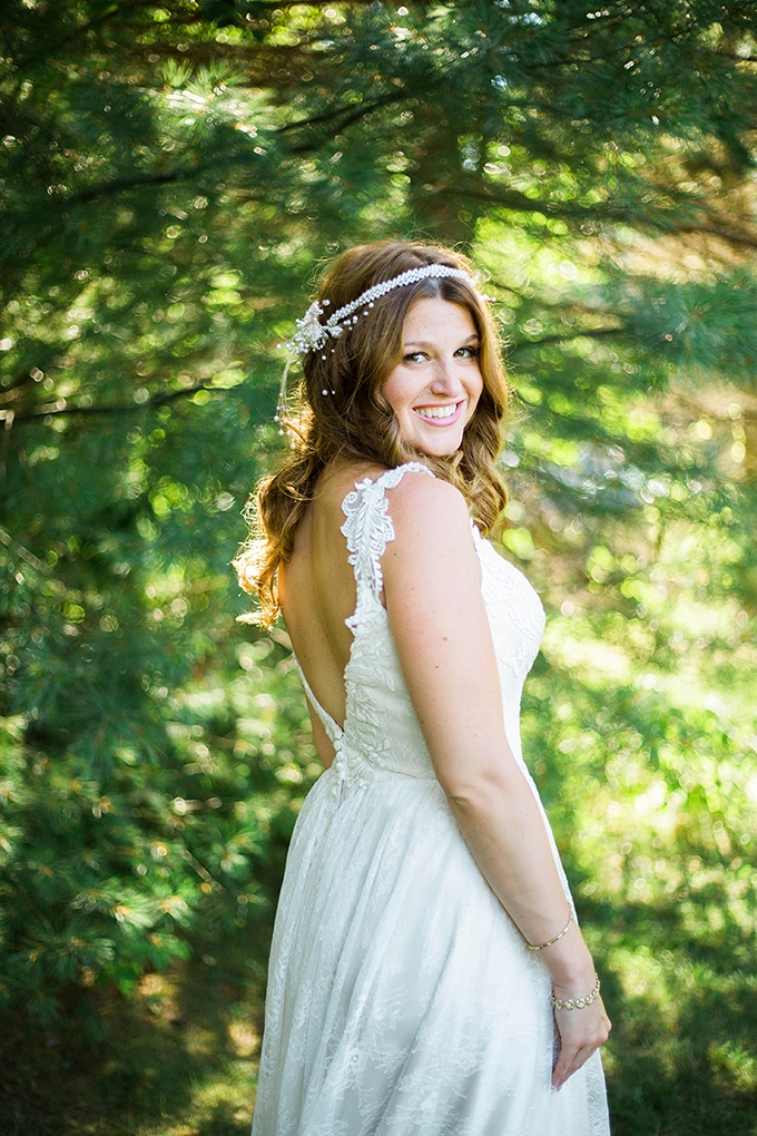 romantic vintage summer wedding | Julie K. Gray Photography | Glamour & Grace