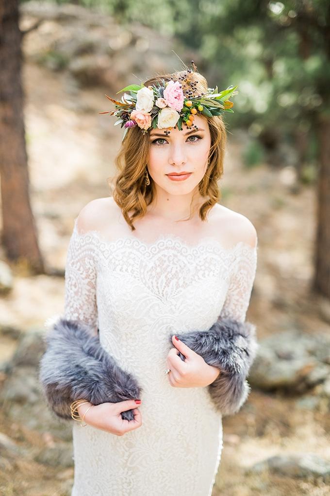 dreamy mountain bridal session   Hazel & Lace Photography   Glamour & Grace-06