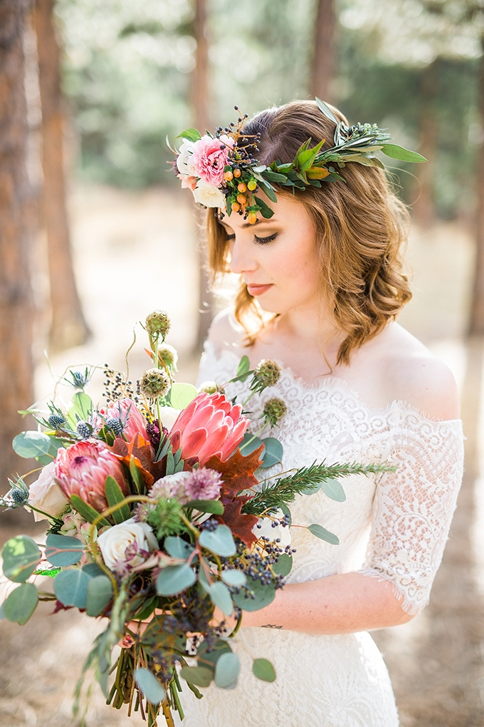dreamy mountain bridal session   Hazel & Lace Photography   Glamour & Grace-10