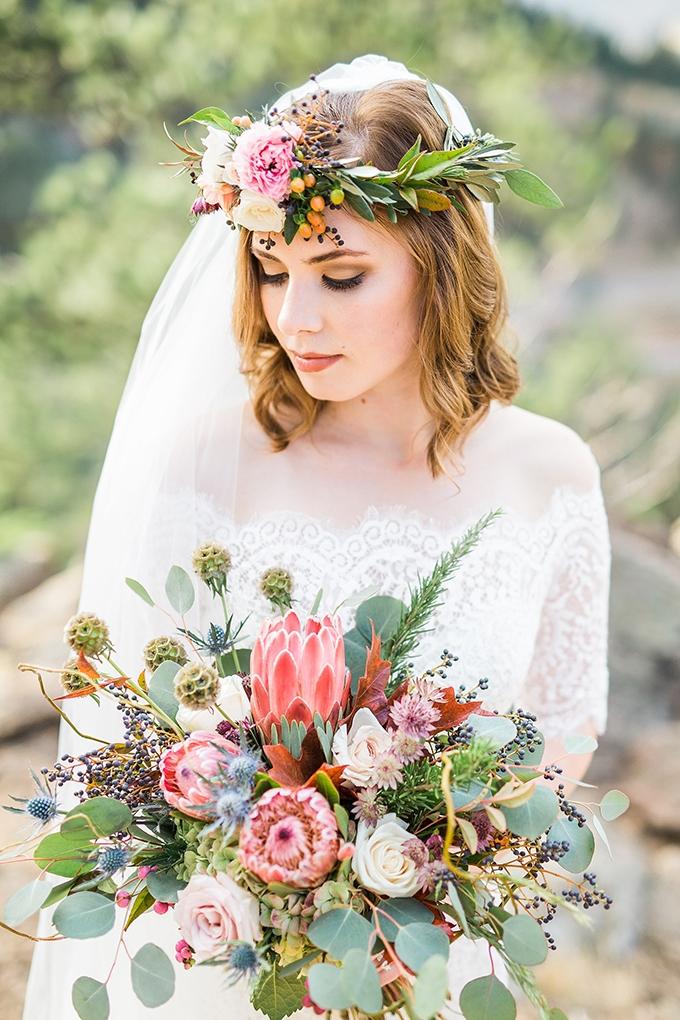 dreamy mountain bridal session   Hazel & Lace Photography   Glamour & Grace-12
