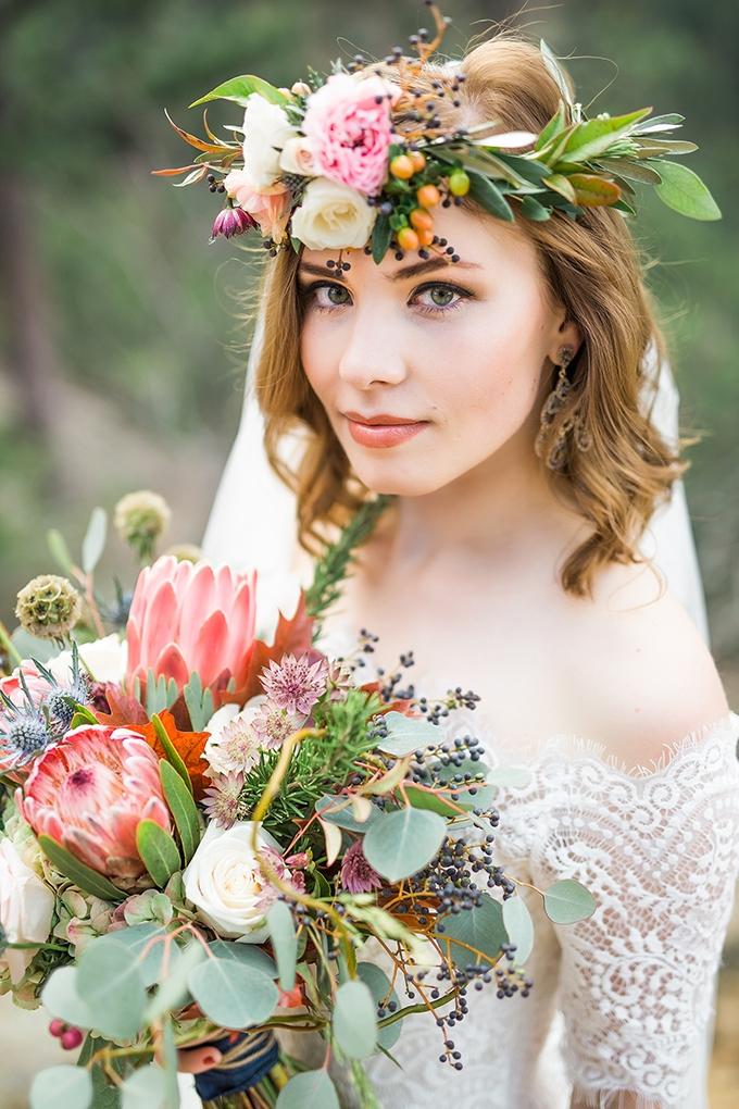 dreamy mountain bridal session   Hazel & Lace Photography   Glamour & Grace-14