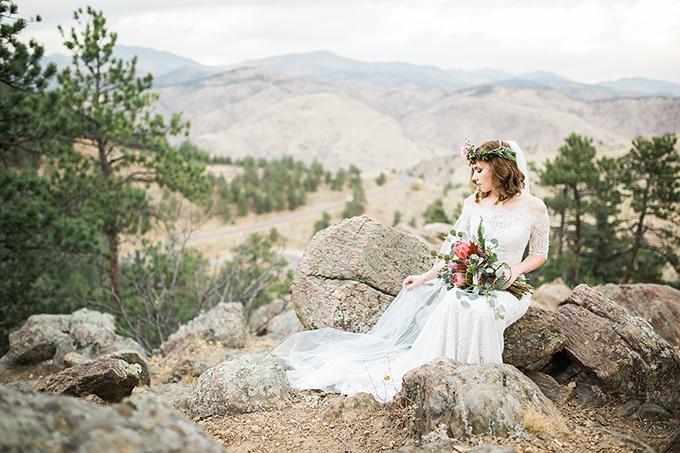 dreamy mountain bridal session   Hazel & Lace Photography   Glamour & Grace-15