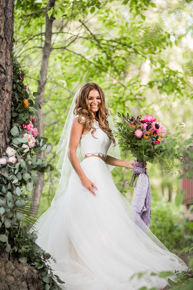flower lover's bridal session   Crystal's Photography   Glamour & Grace