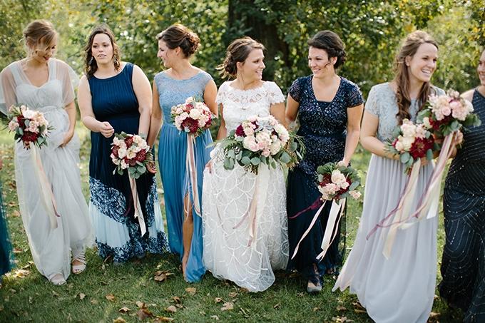 romantic farm wedding | Danielle Stewart Photography | Glamour & Grace