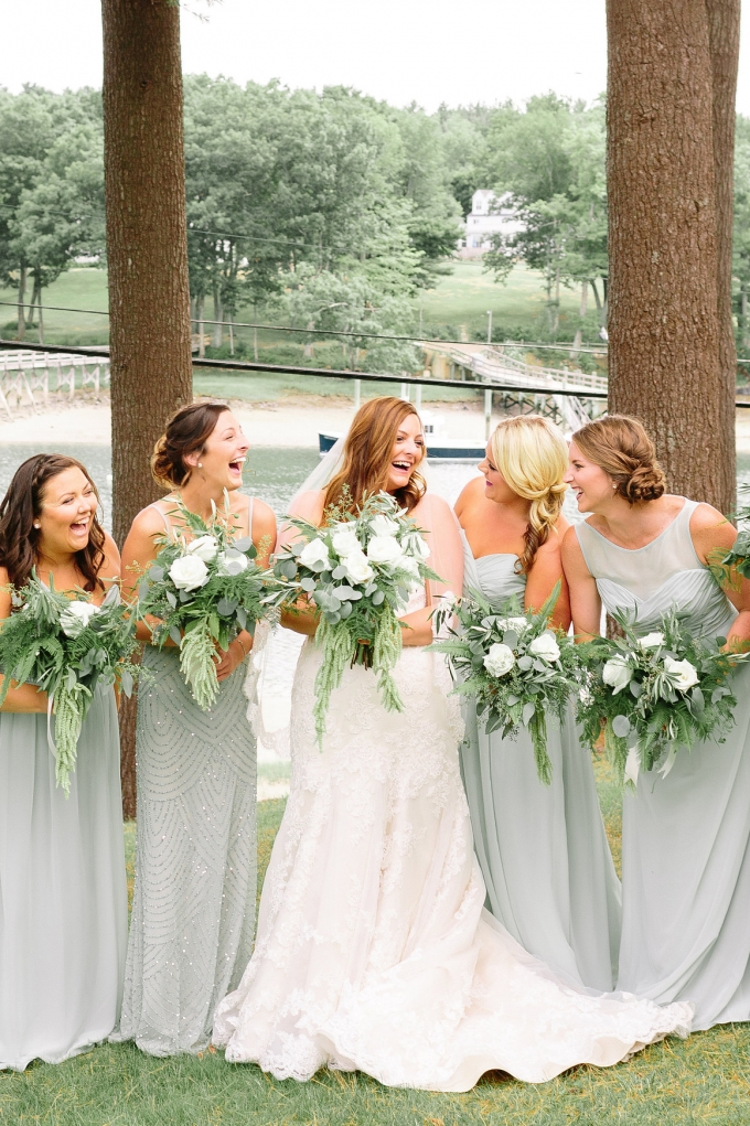 light green bridesmaid dresses | Lex Nelson Photography | Glamour & Grace