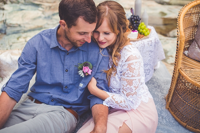 whimsical waterfall elopement | Chelsea Dawn Photography & Makeup Artistry | Glamour & Grace-10