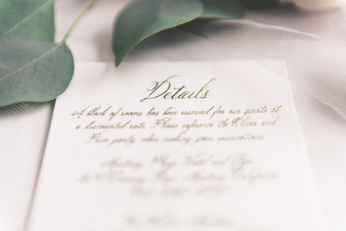Dreamy Wedding Invitations from Wedding Paper Divas Glamour Grace