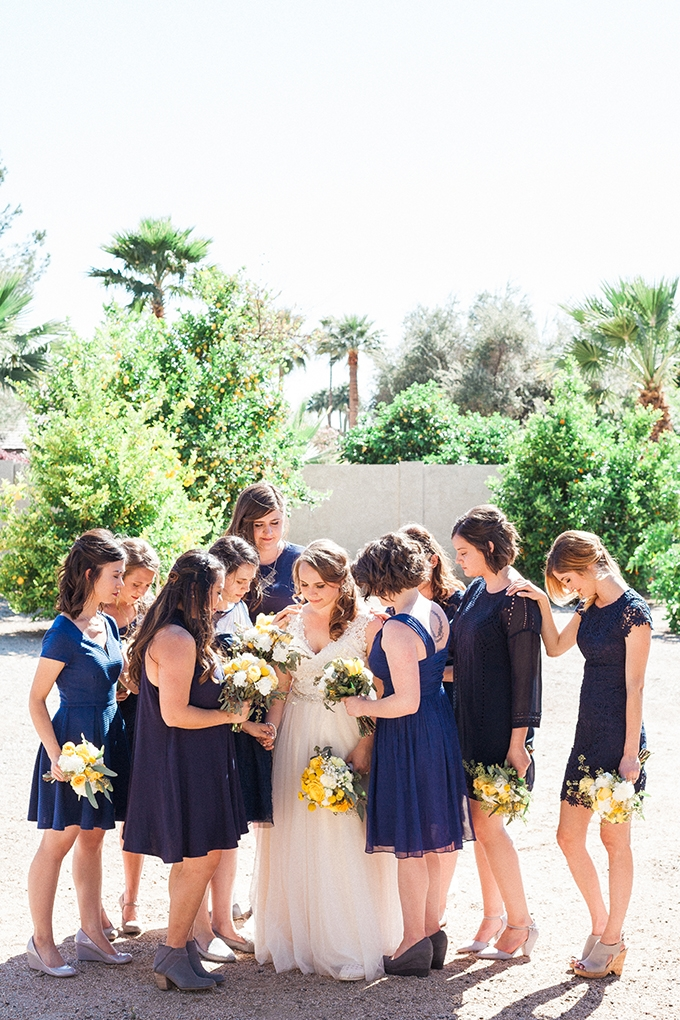 colorful lemon orchard wedding | April Maura Photography | Glamour & Grace-11