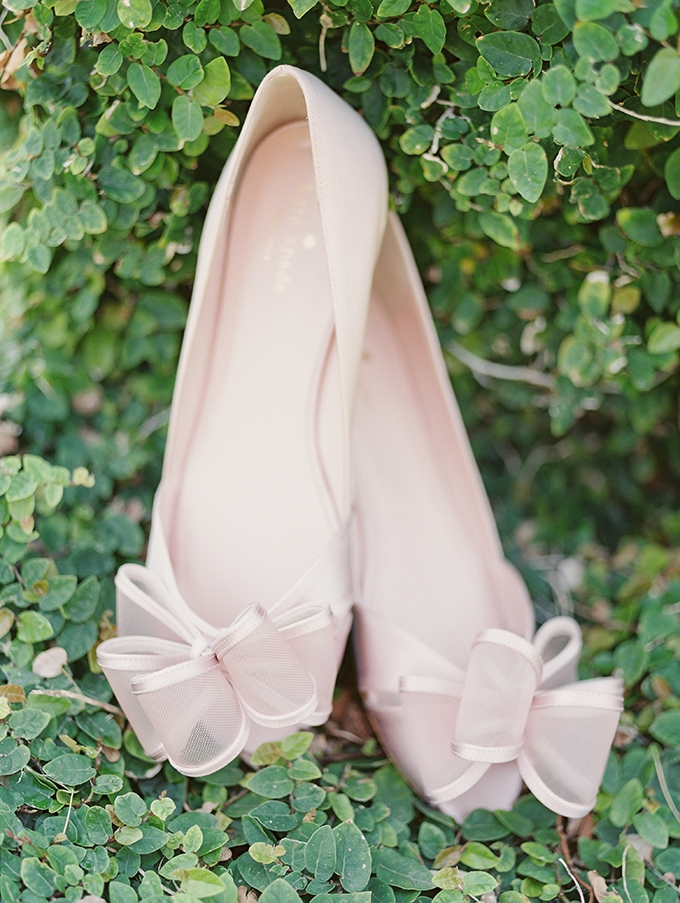 blush Kate Spade shoes | Kate Anfinson Photography | Glamour & Grace