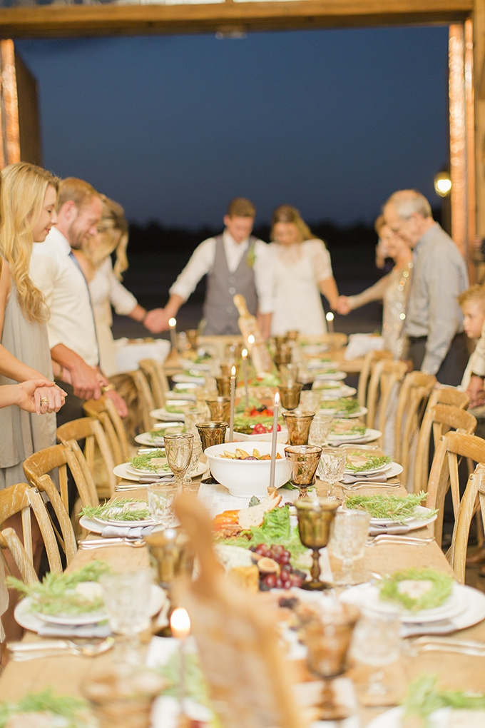 intimate family focused wedding inspiration   Cotton Weddings   Glamour & Grace