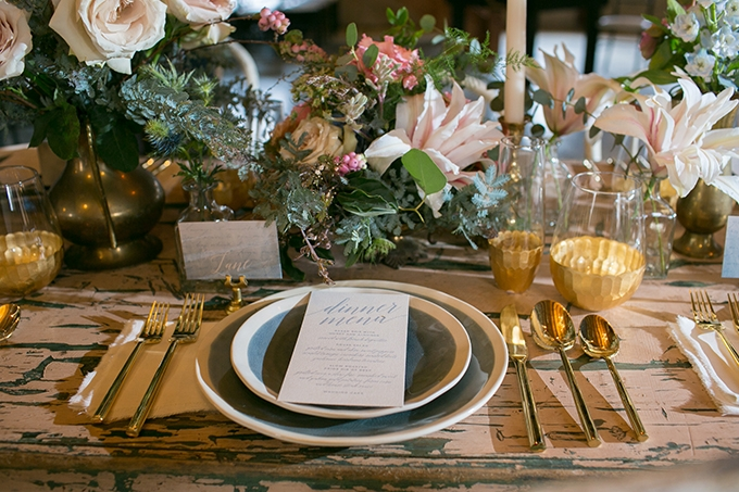 pastel farm wedding inspiration | Erin Johnson Photography | Glamour & Grace-13