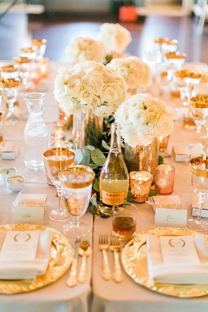 romantic greenery and gold wedding   Lovisa Photo   Glamour & Grace