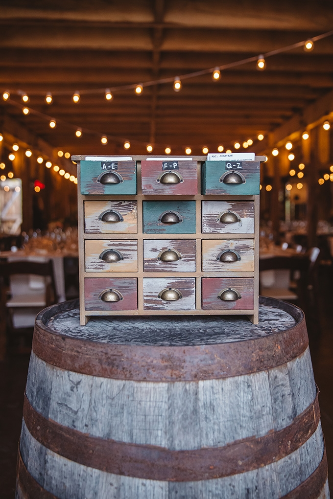 vintage fall barn wedding | Parker Young | Glamour & Grace-23