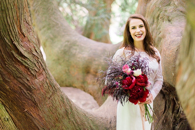 red heirloom wedding inspiration | Aura May Photography | Glamour & Grace-02