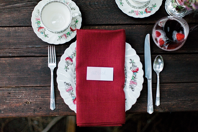 red heirloom wedding inspiration | Aura May Photography | Glamour & Grace-10