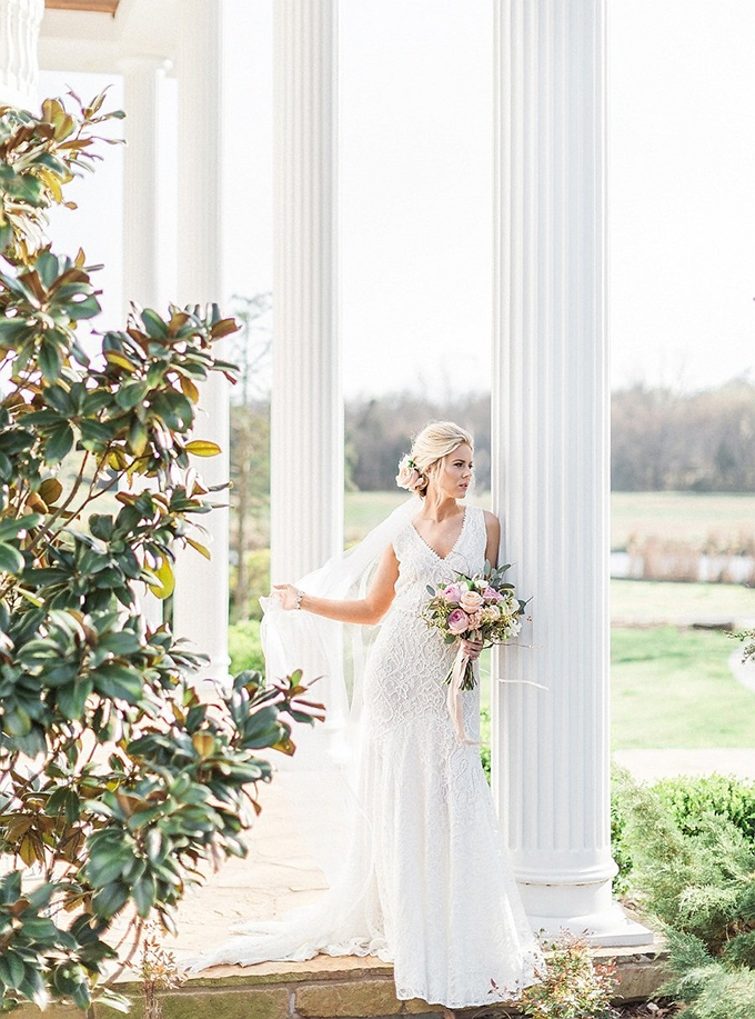 elegant Southern wedding inspiration | Tammy Odell Photography | Glamour & Grace-03