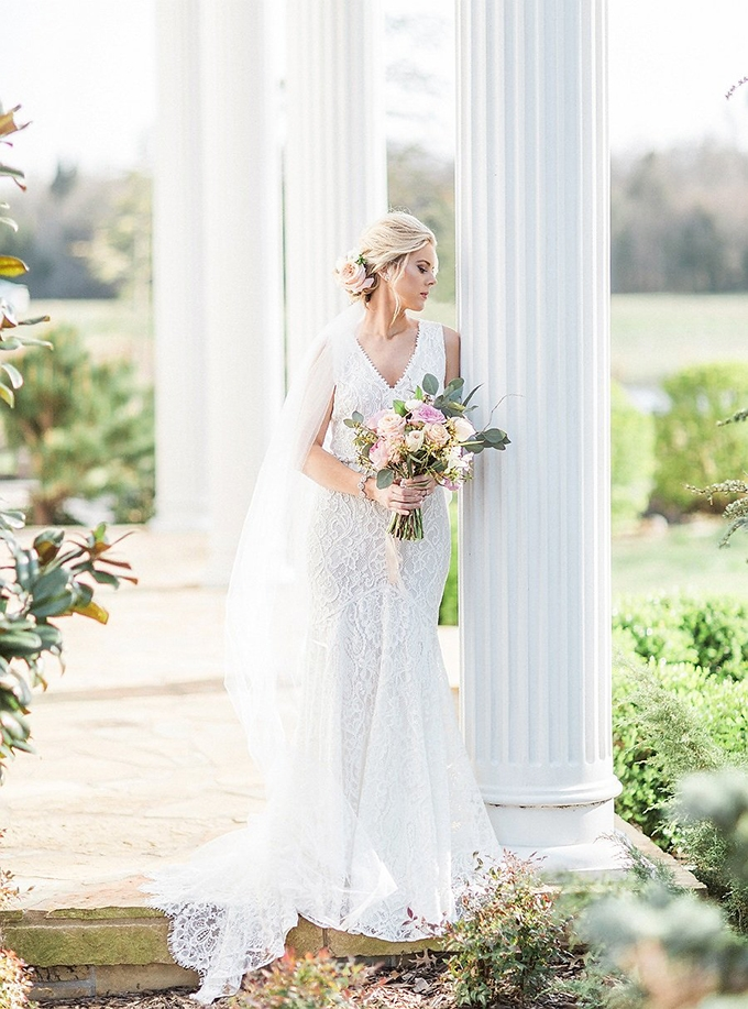 elegant Southern wedding inspiration | Tammy Odell Photography | Glamour & Grace-05