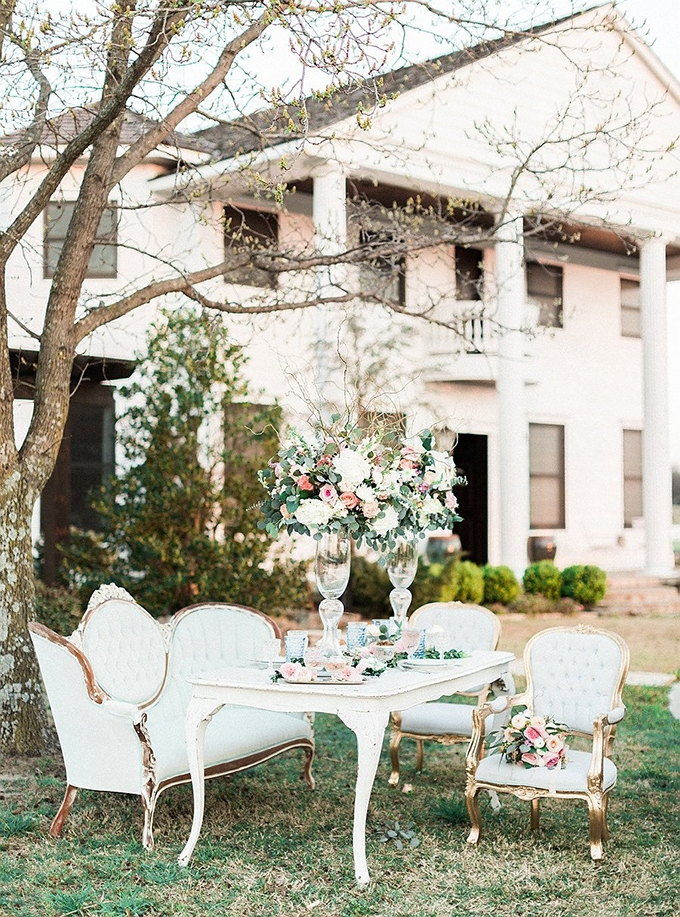 elegant Southern wedding inspiration | Tammy Odell Photography | Glamour & Grace-07