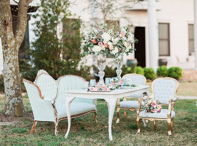 elegant Southern wedding inspiration | Tammy Odell Photography | Glamour & Grace-10