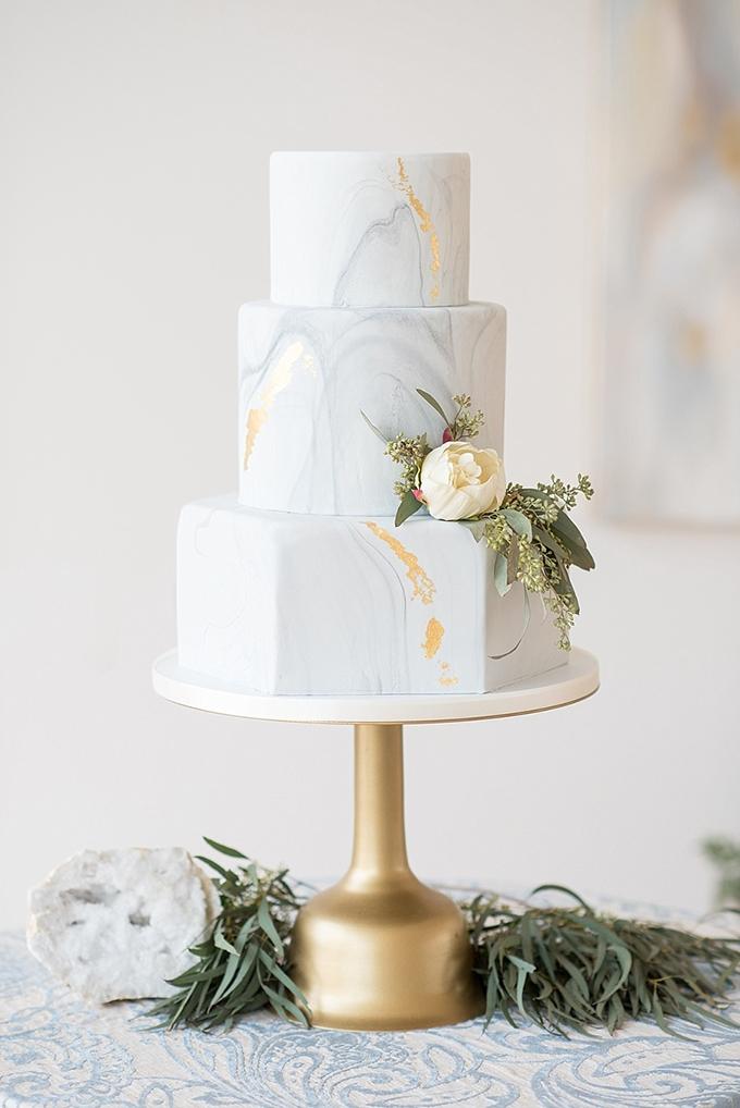 elegant blue and white wedding inspiration   Mikkel Paige Photography   Glamour & Grace-21