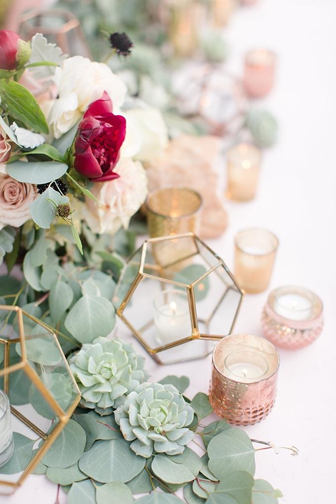 elegant burgundy desert wedding | Amy & Jordan | Glamour & Grace