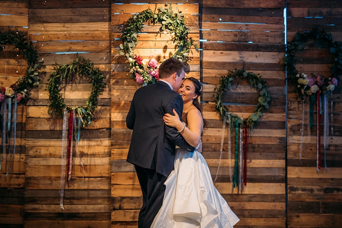 colorful floral filled wedding | Janine Rose | Glamour & Grace