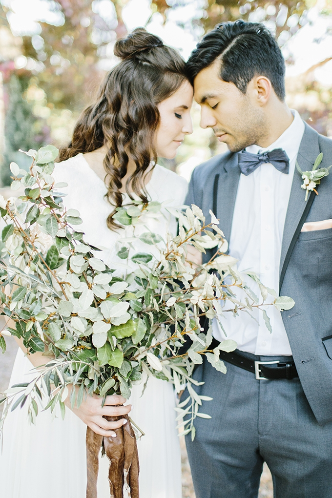 Romantic Minimalist Wedding Inspiration Glamour Amp Grace