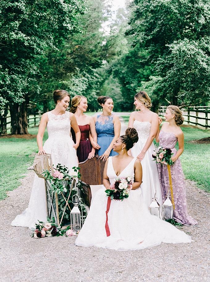 timeless vintage wedding inspiration | Nikki Santerre | Glamour & Grace