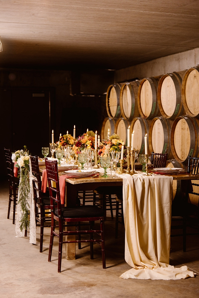 Vintage Vineyard Fall Wedding Inspiration Glamour Amp Grace