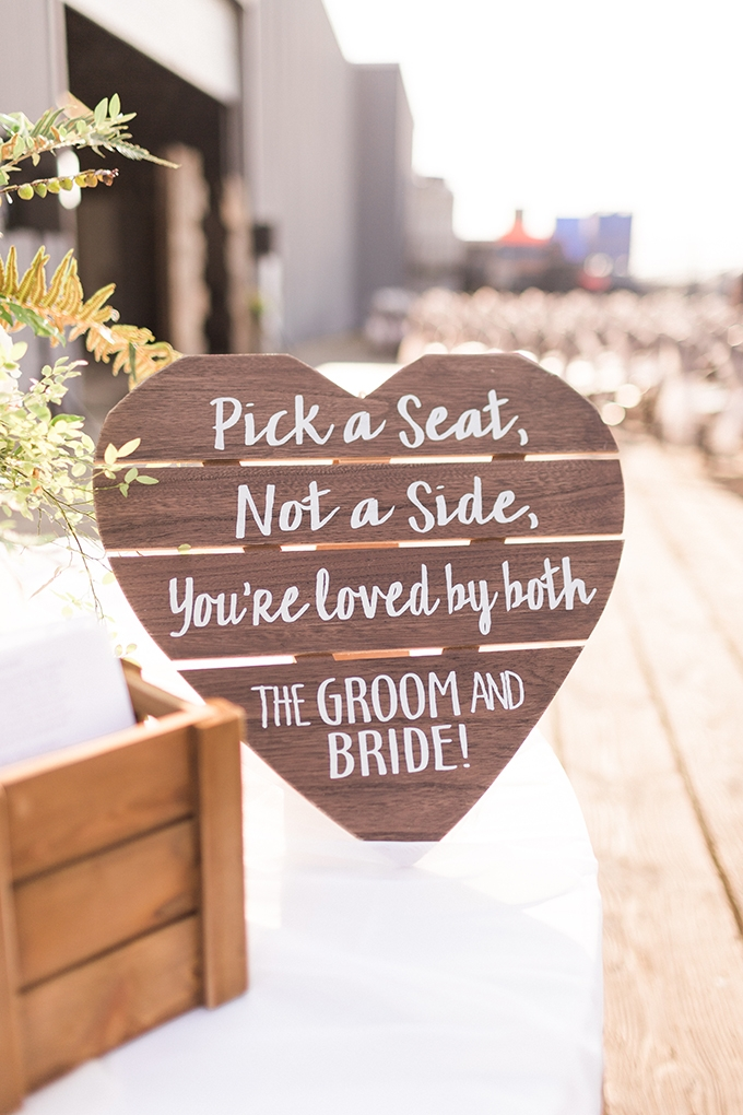 DIY waterside wedding | Courtney Bowlden Photography | Glamour & Grace