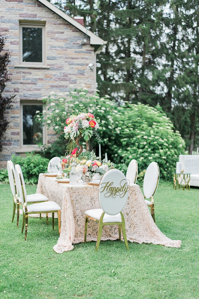 springtime garden wedding inspiration | Lula King Photo & Film | Glamour & Grace