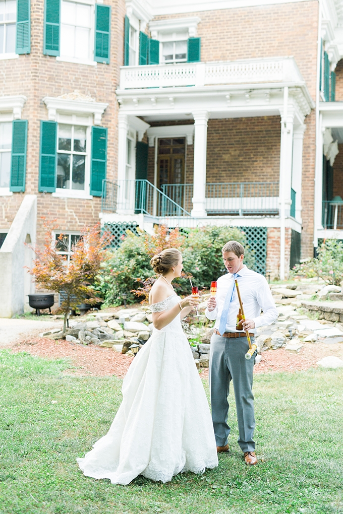 charming garden wedding | Catherine Ann Photography | Glamour & Grace