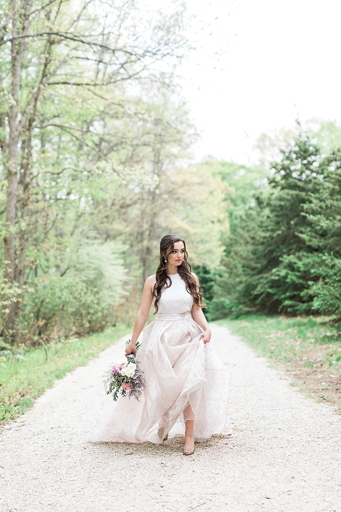 romantic blush and lavender wedding | Laurenda Marie Photography | Glamour & Grace