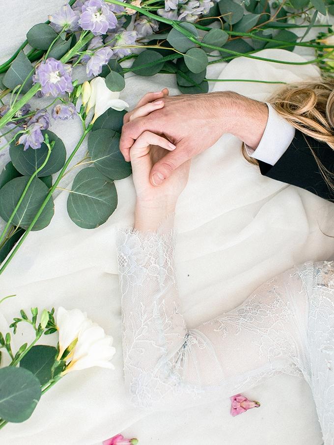 romantic spring wedding inspiration | Kristiann Photography | Glamour & Grace