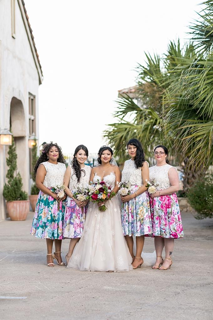 colorful villa wedding   Brio Photography   Glamour & Grace