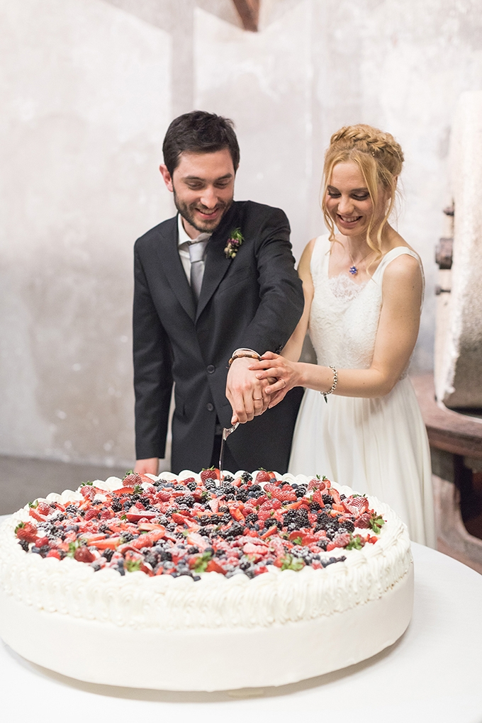 Industrial Italian wedding | Postcard from Italy | Glamour & Grace