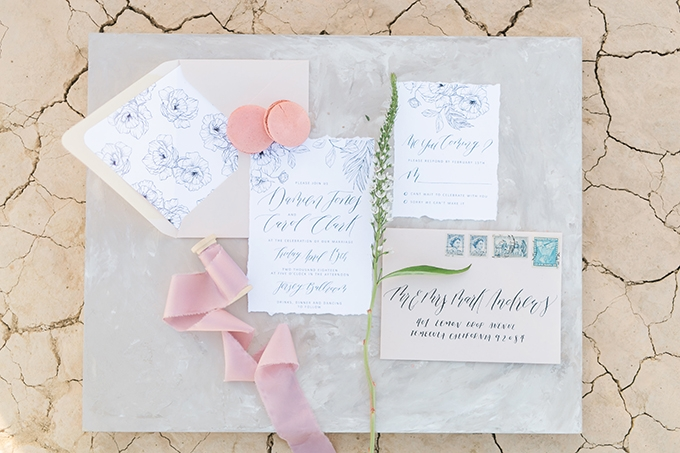 gray and blush wedding inspiration | Whimsie Photo and Video | Glamour & Grace