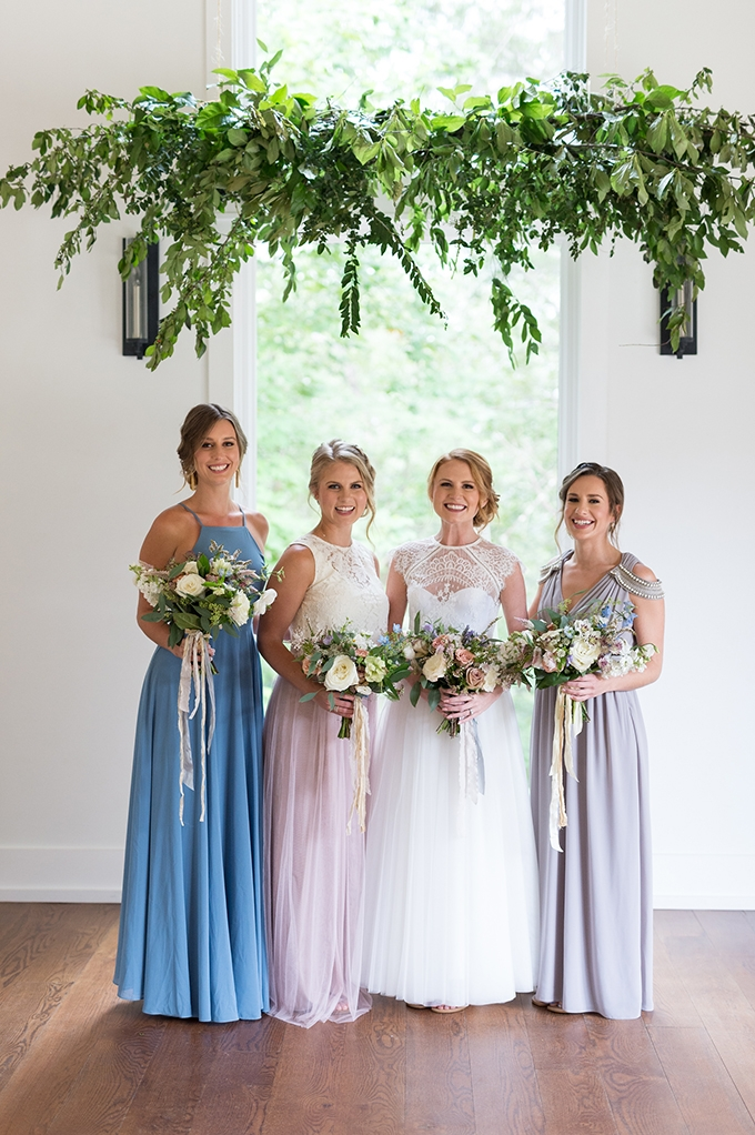 sweet bridesmaid dresses | Laura Barnes Photo | Glamour & Grace
