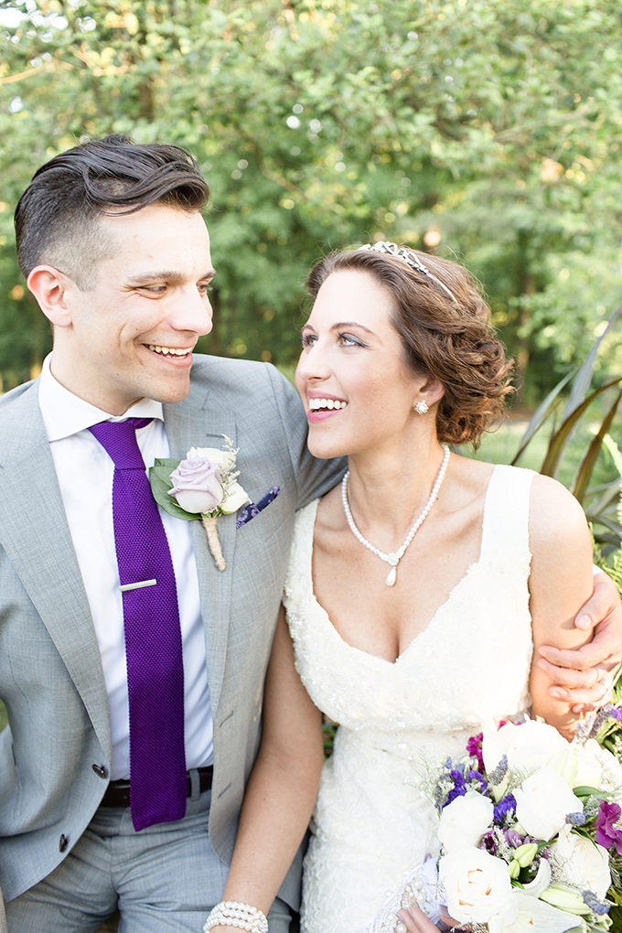 lavender DIY wedding | Cindy and Emily Photography | Glamour & Grace