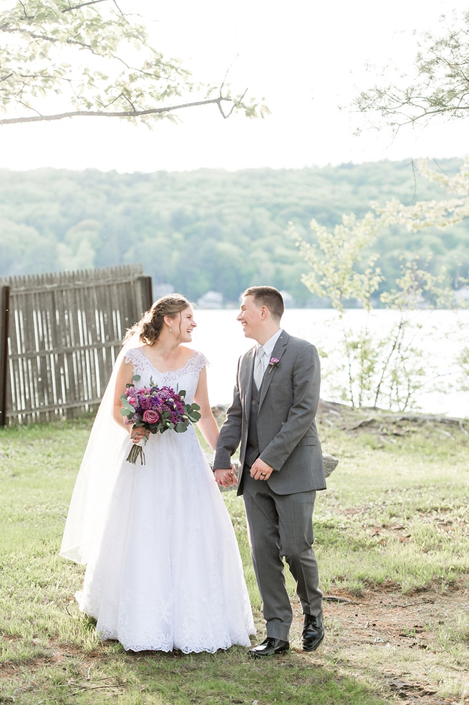 simply sweet lakeside wedding | Lynne Reznick Photography | Glamour & Grace