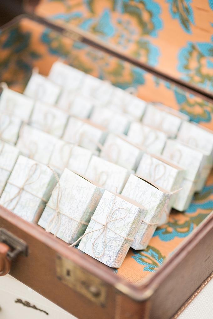 vintage travel themed wedding | Verlee Bishop Weddings | Glamour & Grace