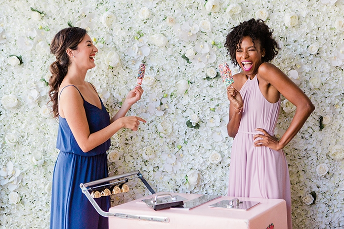 David's Bridal Bridesmaid Shower | Photography by Lauryn | Glamour & Grace