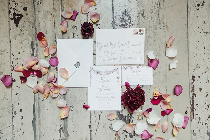 magenta fall wedding ideas   Molly and Co   Glamour & Grace