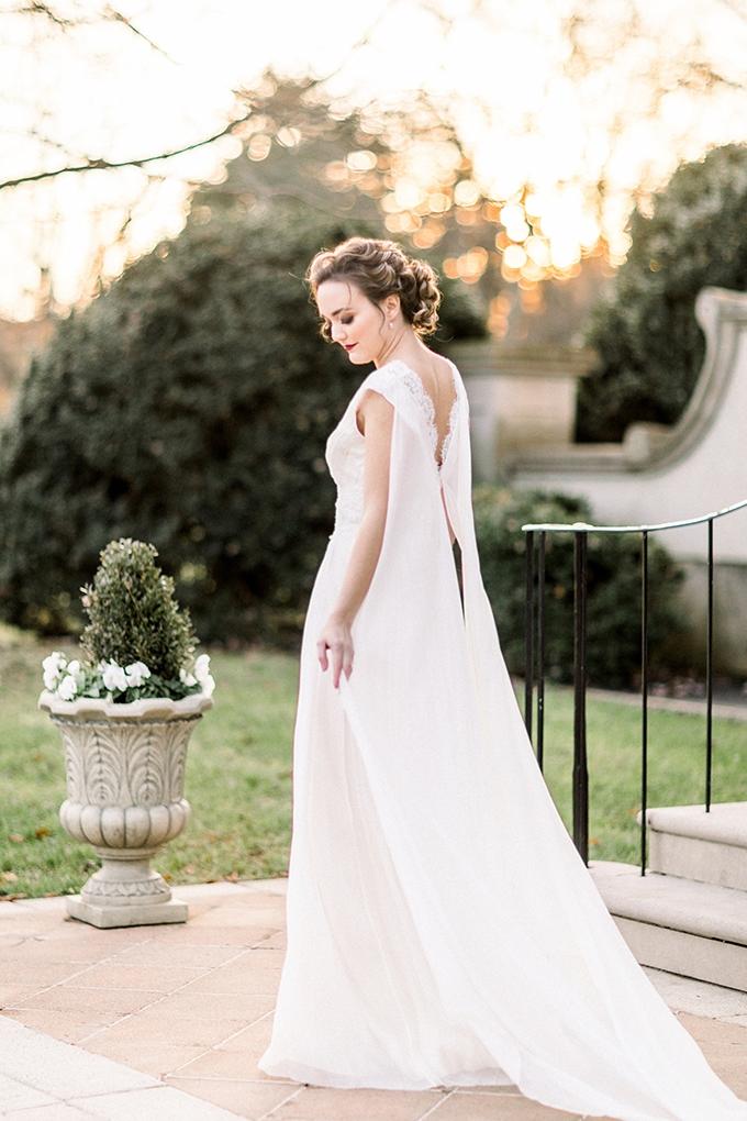 romantic estate bridal portraits | Lieb Photographic | Glamour & Grace