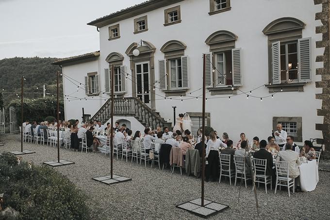romantic Tuscany destination wedding | Daniela Nizzoli | Glamour & Grace