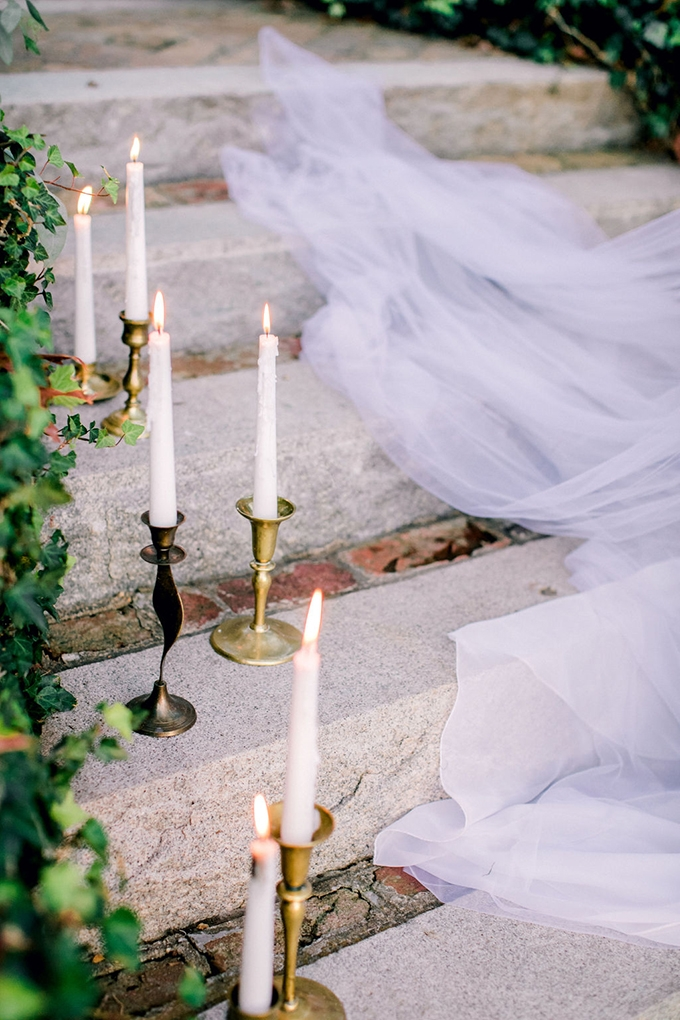 romantic estate wedding inspiration | Kara Powers Photography | Glamour & Grace