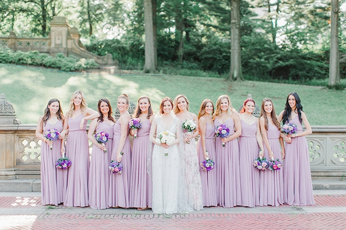 lavender Central Park wedding | Cassi Claire Photography | Glamour & Grace