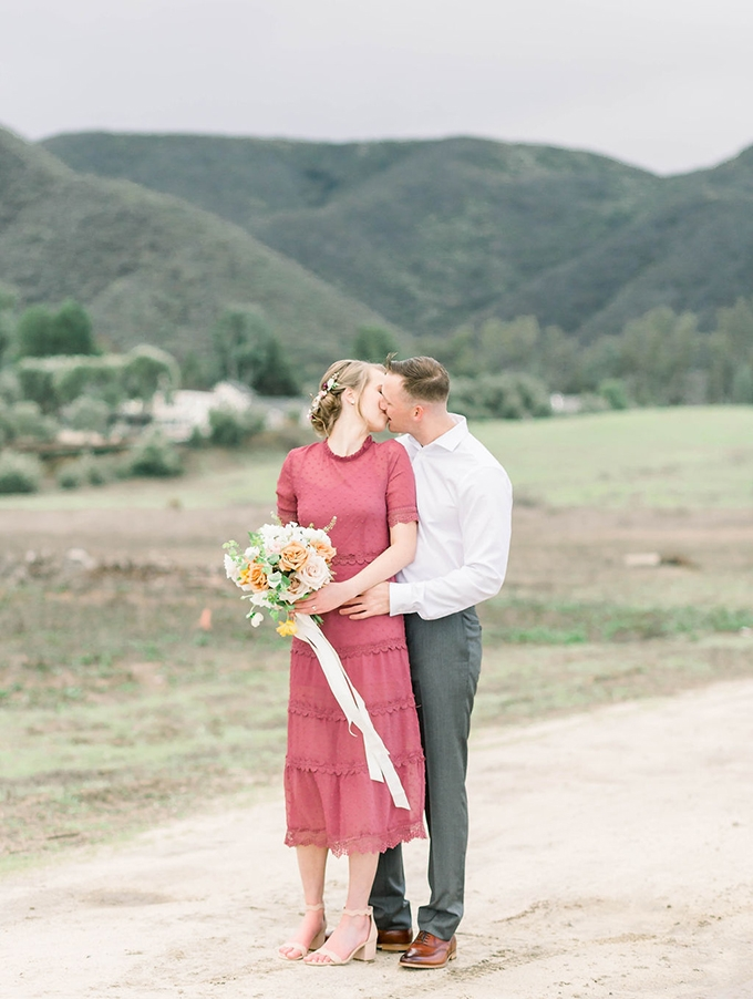 romantic California engagement session | Janita Mestre Photography | Glamour & Grace