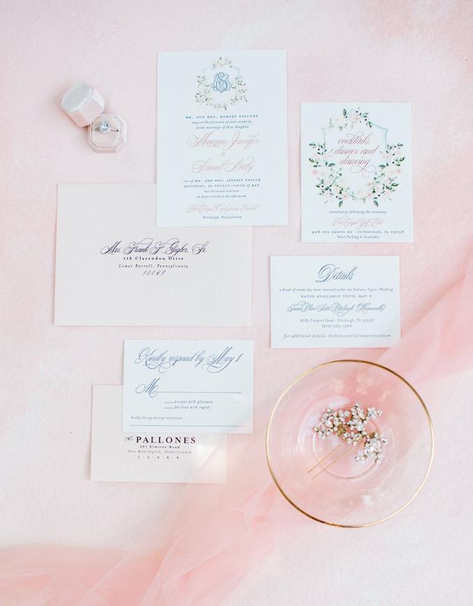 romantic spring bridal inspiration | Kara Powers Photography | Glamour & Grace